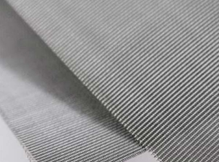 Plain Twill Dutch Weave Stainless Steel Wire Mesh Panels For Plastic Extruder Machine